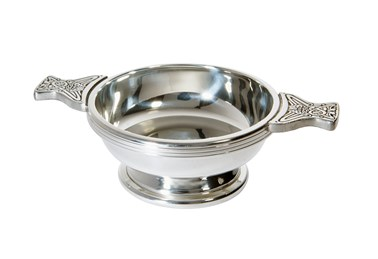 Medium Pewter Quaich