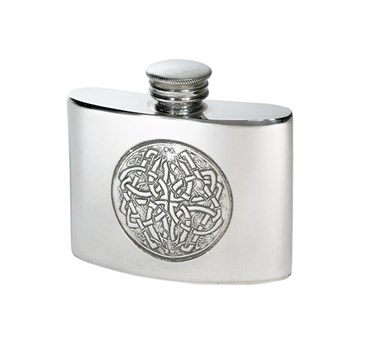 2oz Celtic circle kidney flask