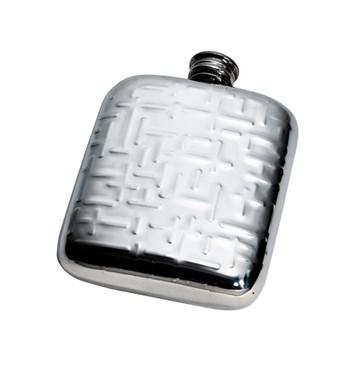 4oz metropolitan pewter pocket flask