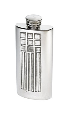 2oz CRM purse Pewter Purse Flask