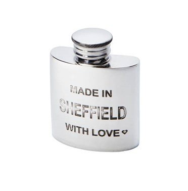 1oz Made in Sheffield Pewter Purse Flask