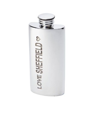 2oz Made in Sheffield Pewter Purse Flask