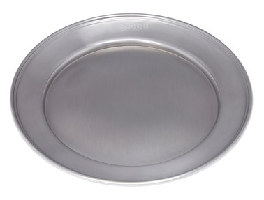 Medium antique finish Pewter Plate