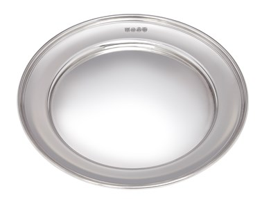 Medium Polished finish Pewter Plate