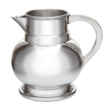 Medium Pewter Water Jug  Beer Pitcher