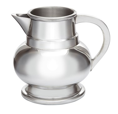 Small Pewter Water Jug Beer Pitcher