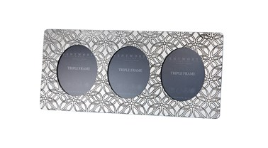 Triquetra Pewter Triple Frame