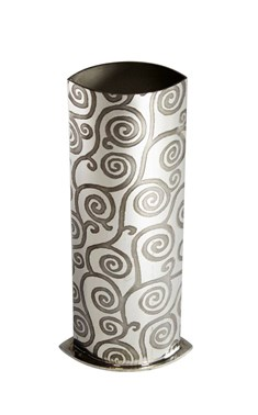 Tree of Life Pewter Budvase