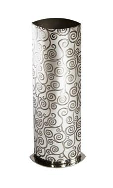 Large Tree of Life Pewter Vase