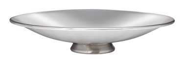 Plain Pewter bowl