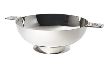 6 inch Celtic Silver Plated Quaich