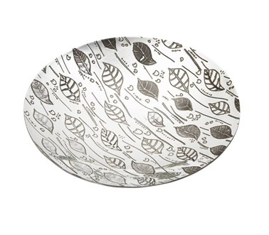 Leaf Pewter Bowl