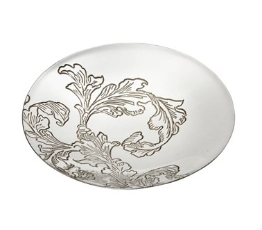 Acanthus pattern Pewter Bowl