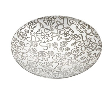 Yorkshire Rose Pewter Bowl