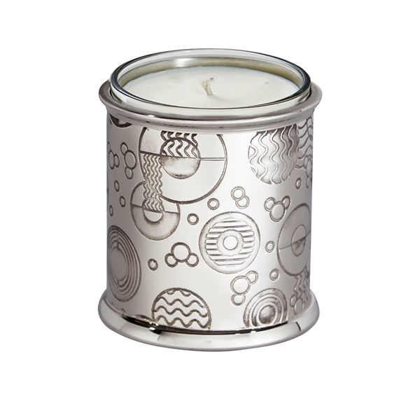 Retro pewter candle Votive