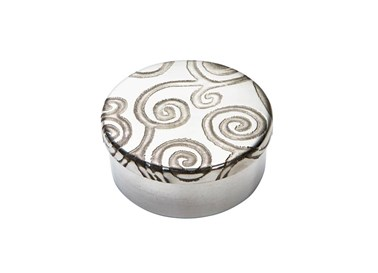 Small Tree of Life Pewter Trinket Pill Box