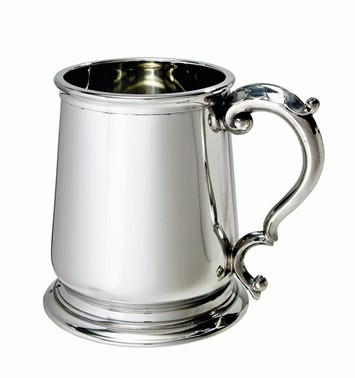 George III 1 pint pewter Tankard