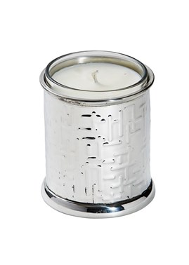 Metropolitan pewter candle votive
