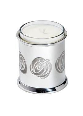 Charles Rennie Mackintosh Rose Pewter Candle votive