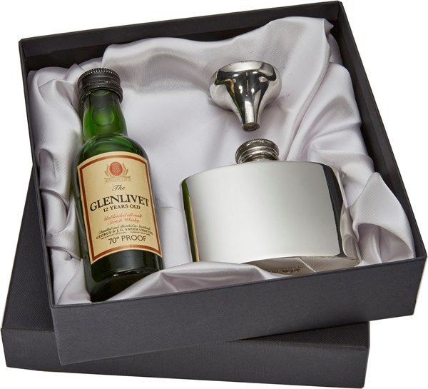 Box to fit flask and minature  BOX ONLY