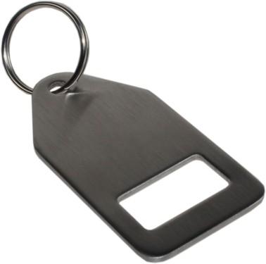 Stainless Steel Bottle opener keyring