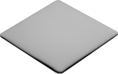 Square stainless steel coaster
