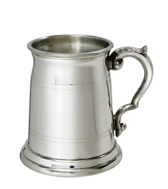 Half Pint Old London pewter Tankard