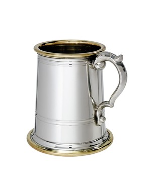 Half Pint Wortley Pewter Tankard