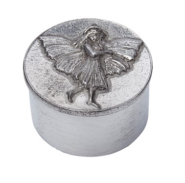 Cast pewter Fairy Trinket Box
