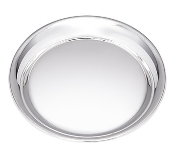Round Pewter Bottle Coaster