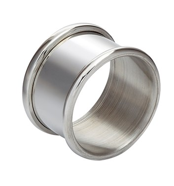 Round Pewter Napkin Ring