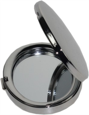 Nickel plated Oval mirror