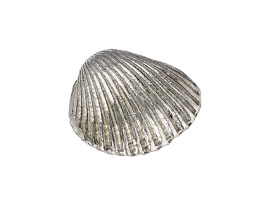 Cast Pewter Small Cockle Shell ornament