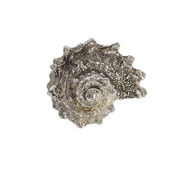 Cast Pewter Spikey Shell ornament