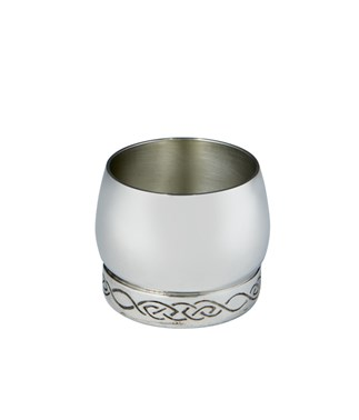 Pewter celtic Whisky Tot