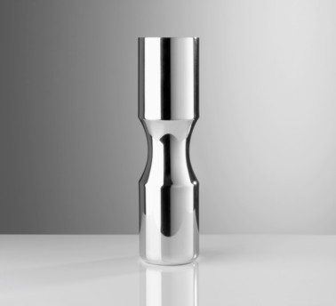 Pewter Large Wide Groove Vase by Miranda Watkins