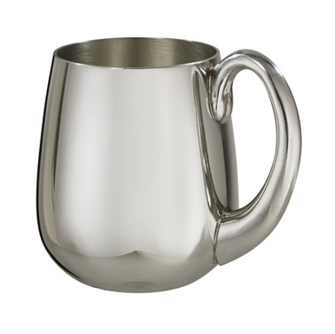 Stout 1 pint pewter Tankard