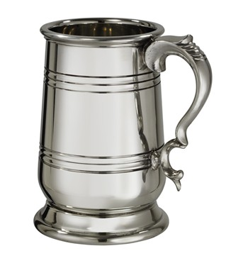 X Range Heavy Howard 1 pint Pewter Tankard