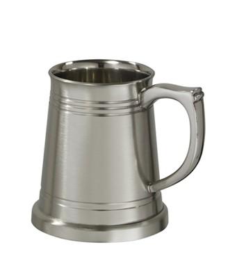 Polished Pewter  X range Quarter pint Baby Mug