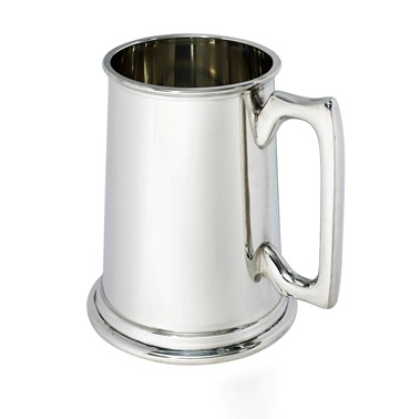 Plain 2 PINT Pewter Tankard