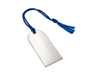 Stainless Steel Book mark with tassel