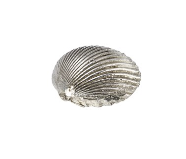 Cast Pewter Large Cockle Shell Ornament