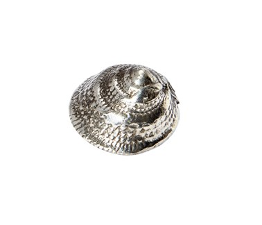 Cast Pewter Periwinkle ornament