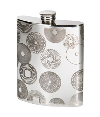 Millstones 6oz Kidney Spirit Hip Flask