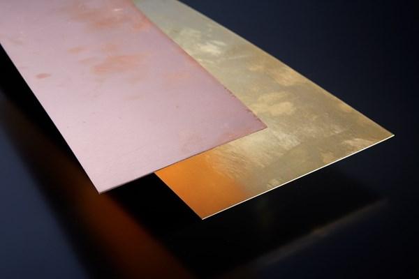 Copper Sheet 0.7mm Gauge