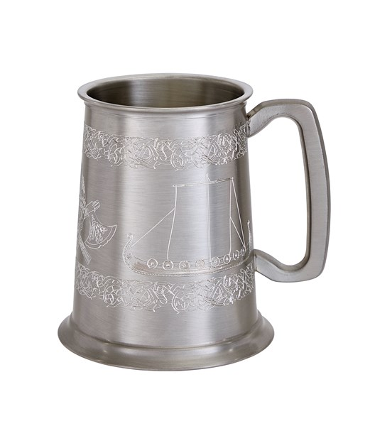 1 Pint Viking Ship Design Tankard