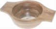 Small Mango wood quaich with engraving space