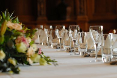 Private dining functions at West Dean College, West Sussex