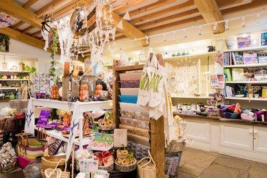 West Dean Gardens Gift Shop. Image credit: Chrisopher Ison
