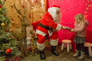 Visit Father Christmas at West Dean Gardens